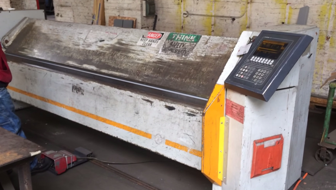 Used Sheet Metal Folding Machine Metal Folder For Sale