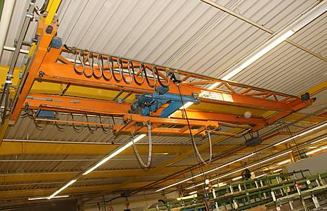 NIEMANN & HOFF 2-Girder Bridge Crane