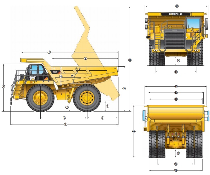 Used Caterpillar 777 For Sale