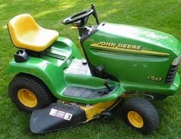 John Deere Lt155 Lawn Tractor