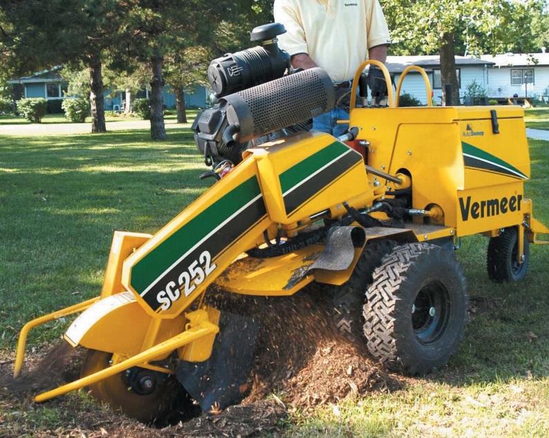 Vermeer Stump Grinder For Sale >> Vermeer Sc252 Technical Specifications