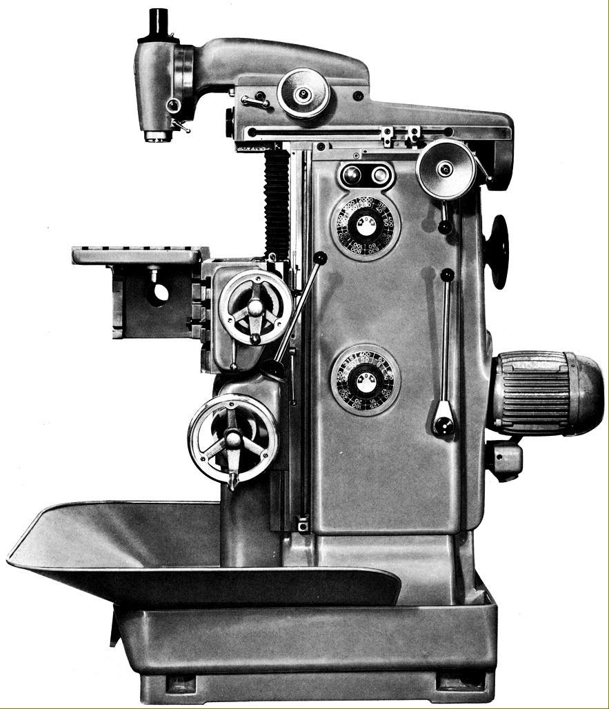 DECKEL FP2 Werkzeugfräsmaschine (gebraucht)