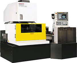 FANUC Robocut α-C600iA EDM machine
