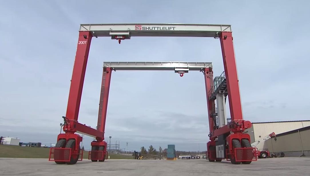 Used Jib Crane Hoist : Used gantry cranes for sale overhead portable crane