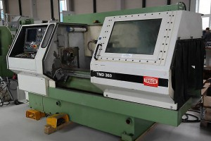 A TRAUB CNC Machine Center Model TND 360