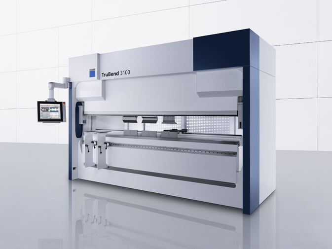 TRUMPF sheet metal working press brake