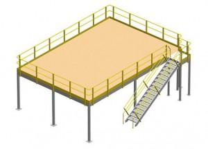 raised storage platforms