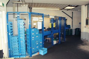 security cage for storage