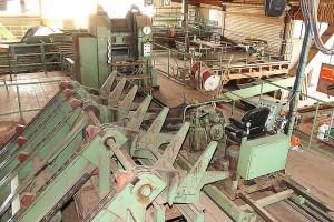Saw mill plant