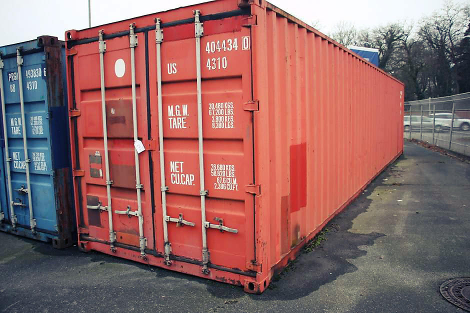 transport container for shipping