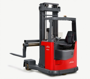 LINDE electric reach truck