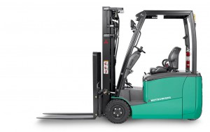 MITSUBISHI Three-wheel electric forklift