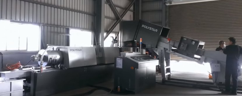 Machines for plastics processing