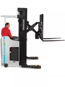 NISSAN electric reach truck