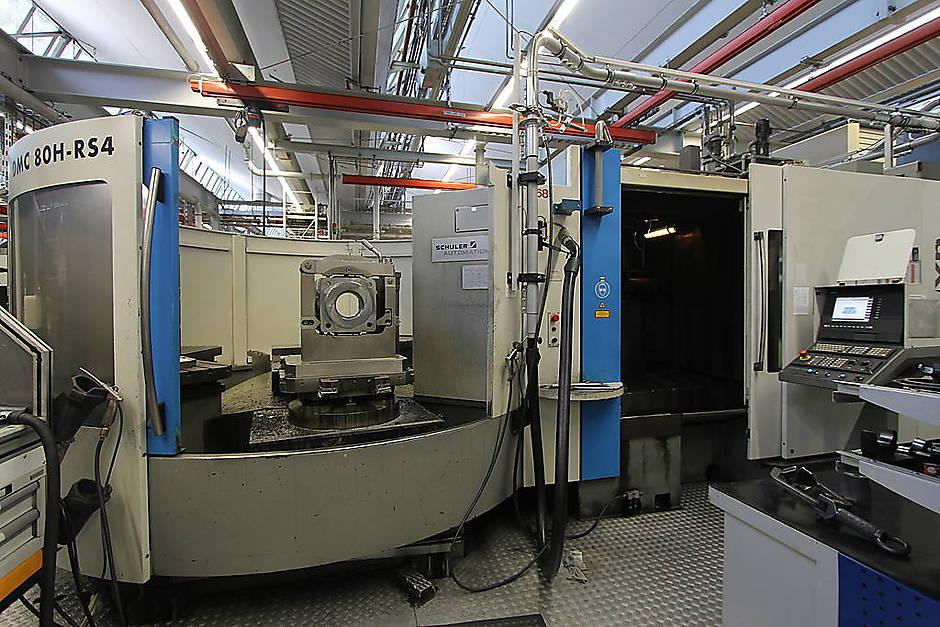 DMG Horizontal Machining Center