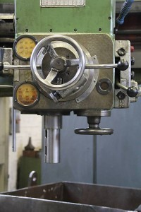 Radial drill arm