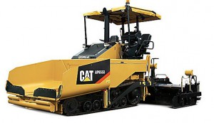 CAT asphalt pavers