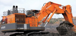 HITACHI mining shovel