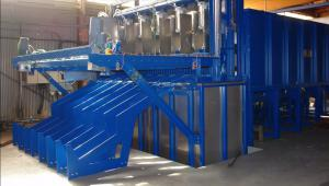 steel hardening machine