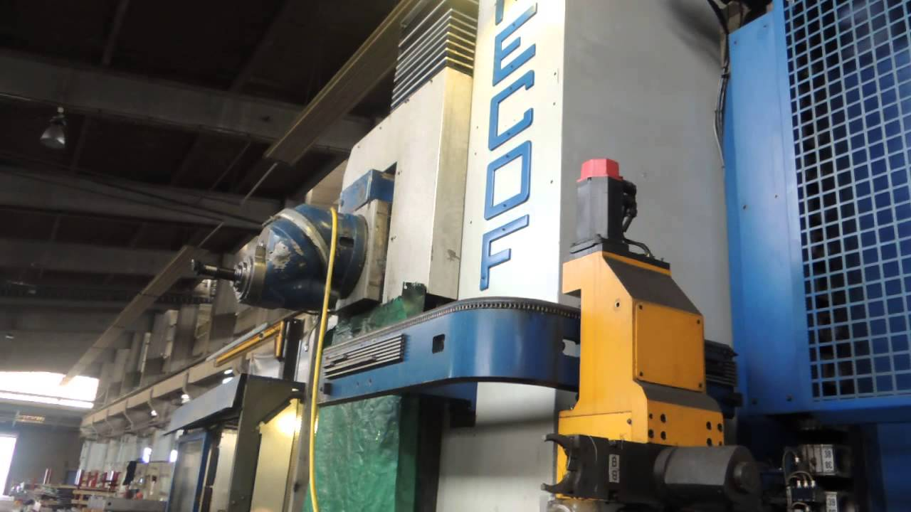 MECOF Gantry Type Milling Machine