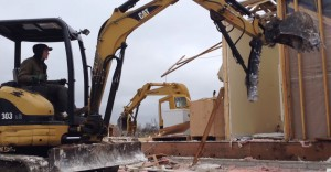 used cat 303 at work