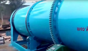 Rotary Wood Chips Dryer