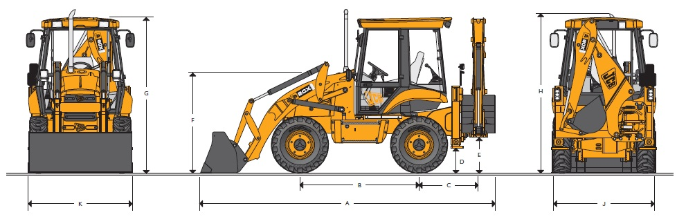 JCB Backhoe 2 CX