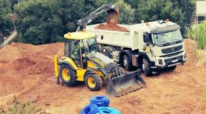 Volvo Loader/Excavator