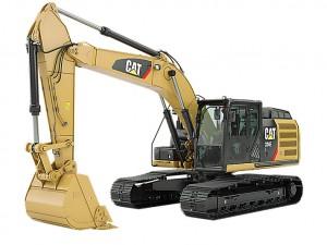 cat 324used excavator