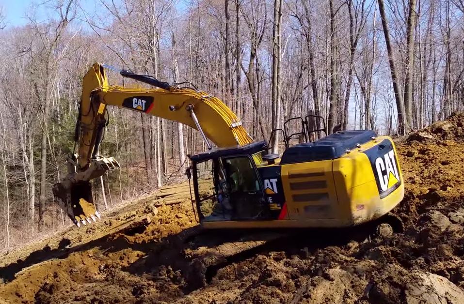 cat 349e excavator