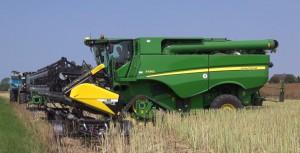 harvester machine