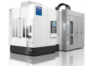 HELLER 4-axis horizontal machining centre