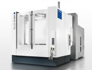 HELLER 5-axis machining centres for milling and turning