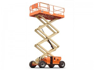 JLG Engine Powered Scissor Lift