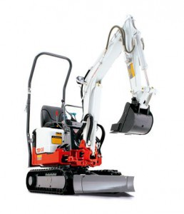 TAKEUCHI TB108 mini excavator