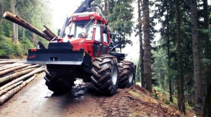 forestry tractor