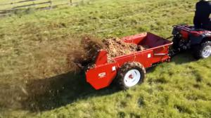 Ground driven spreader