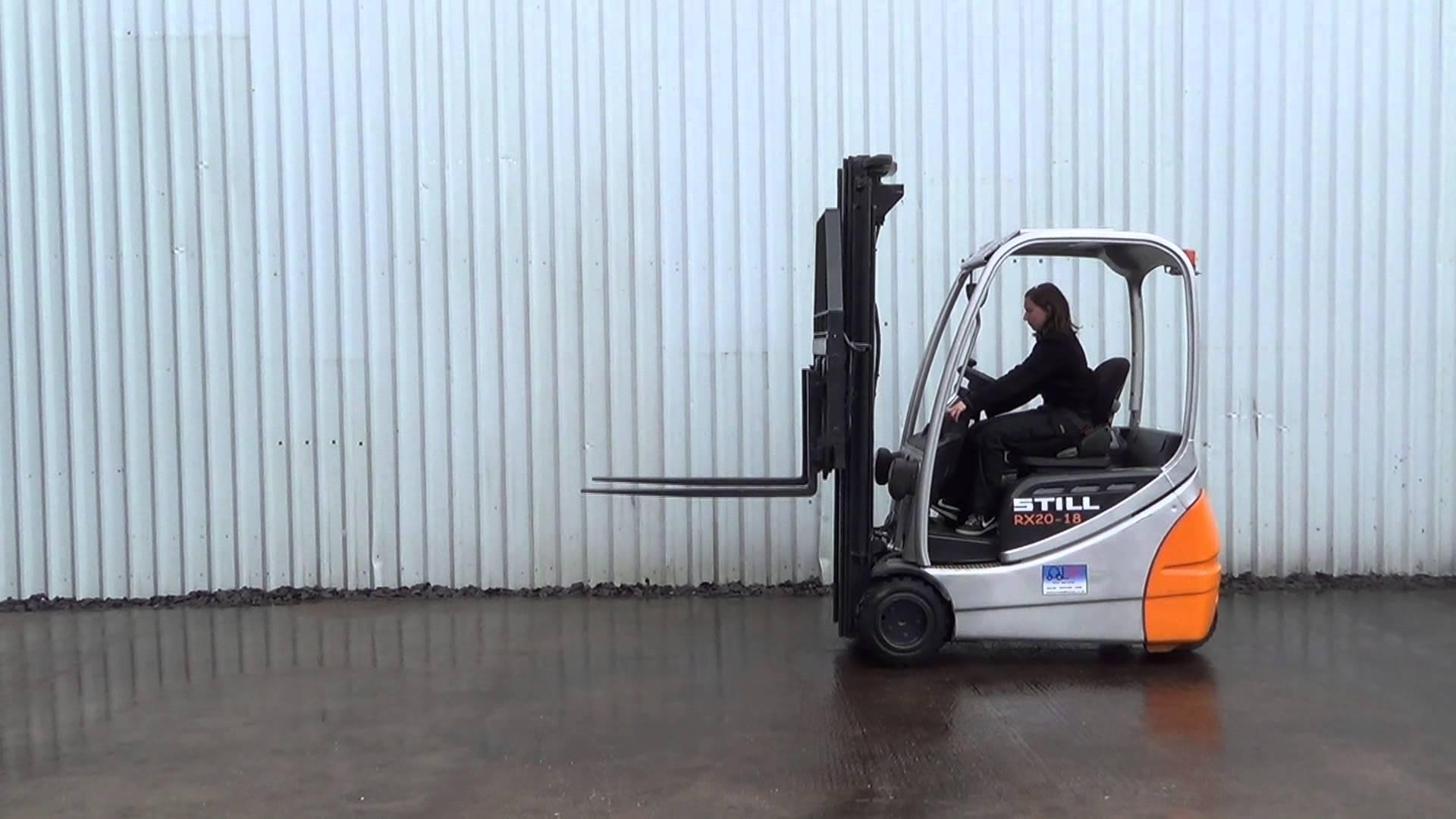 STILL 3 Wheel Forklift