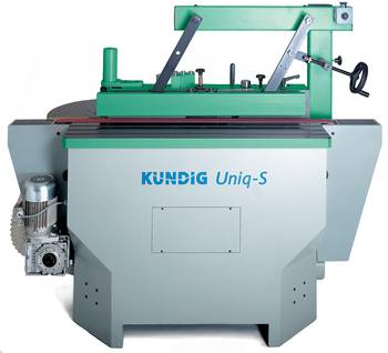 KÜNDIG Uniq Edge sanding machine