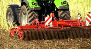 soil disc harrow
