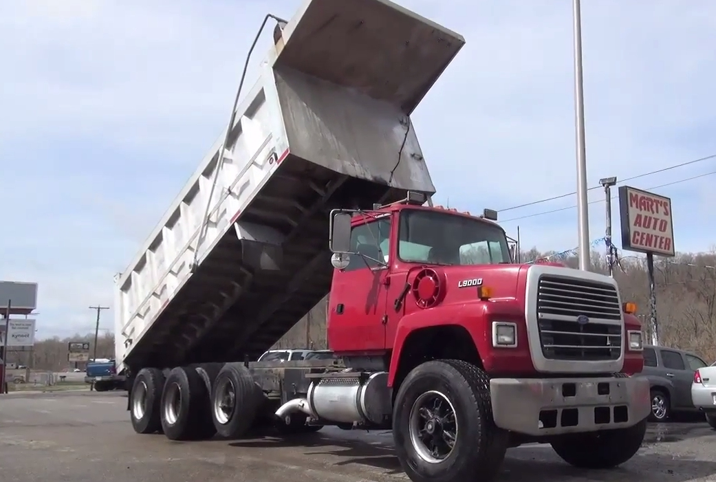 Dump Truck 3 Axles : Used tri axle dump trucks for sale truck