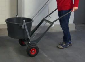 bucket transport trolley