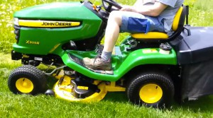 John Deere loan tractor