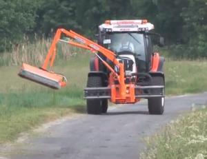 slope mower