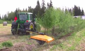 mower for slopes