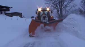 modern snow plow