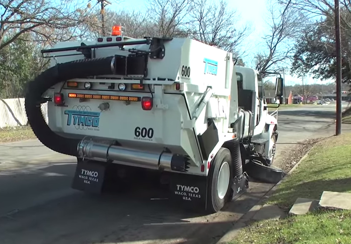 tymco 600 sweeper