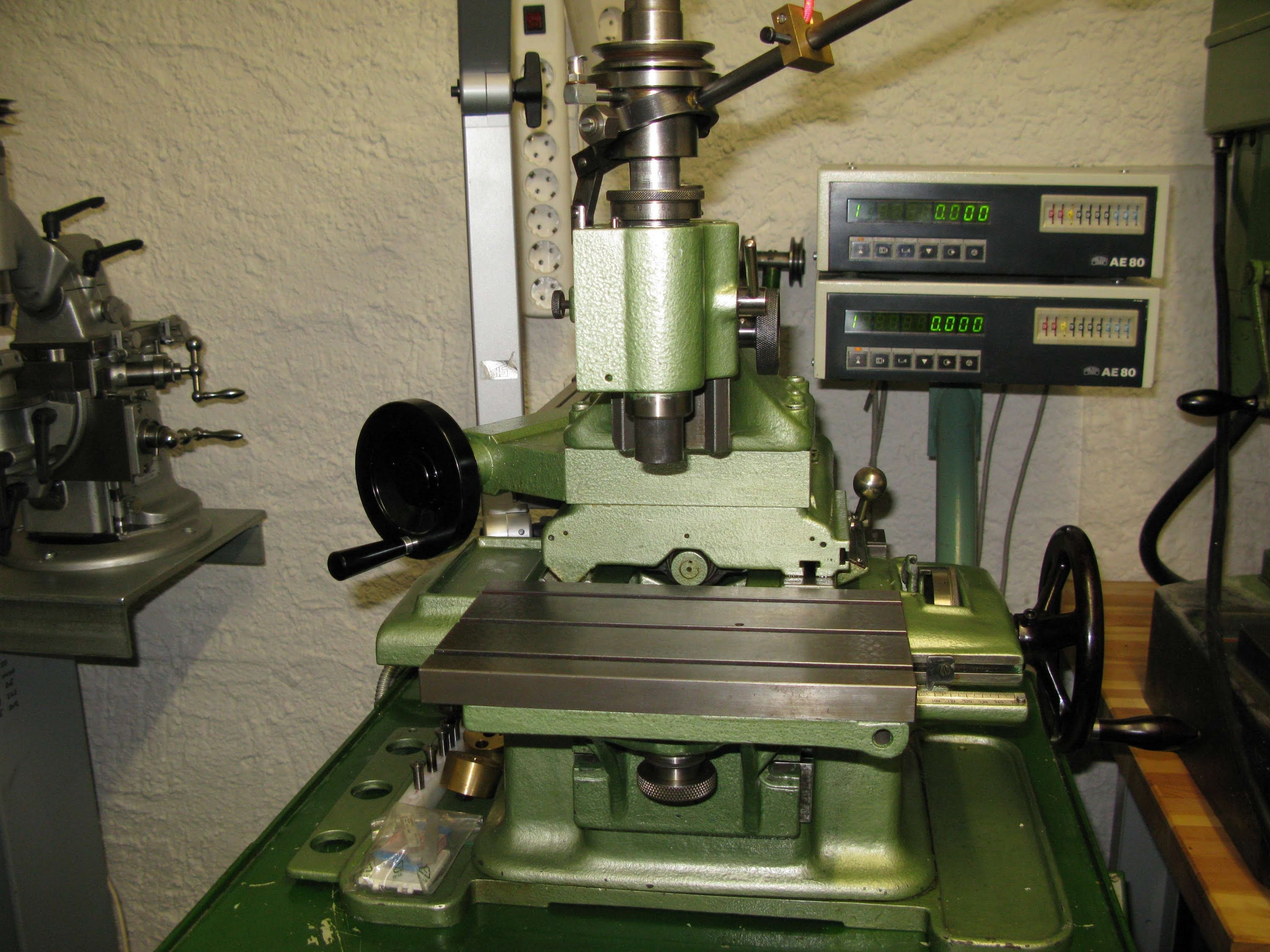 HAUSER Jig Boring Machine