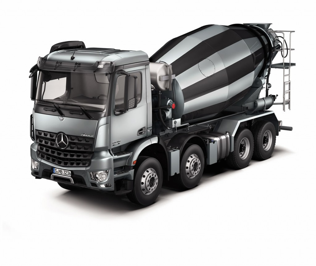 Used cement concrete mixer truck for sale mixer trucks for Mercedes benz truck for sale