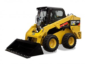 CAT 246D skid steer loader